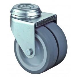 Roulettes doubles pour appareils
