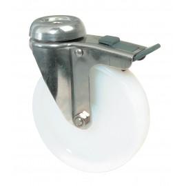 Roulettes inox pour appareils