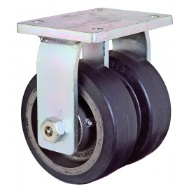 Heavy duty dual castor