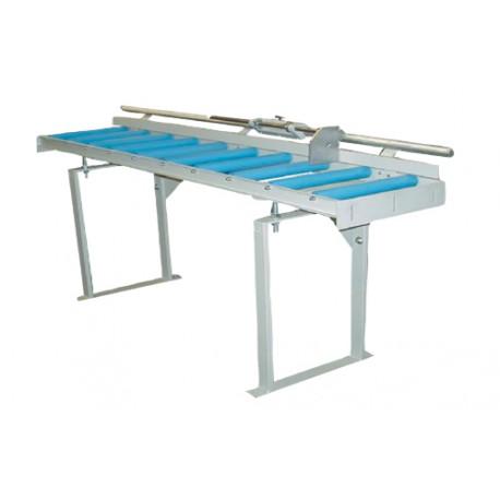 Manual shift roller conveyors