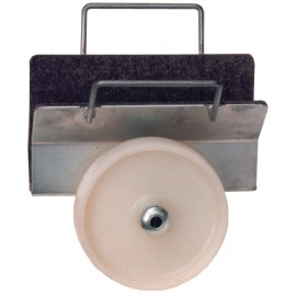 Clamp panel rollers
