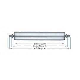 Rouleaux de support tubes en aluminium