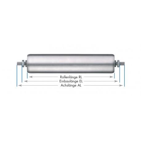 Rouleaux de support tubes en inox