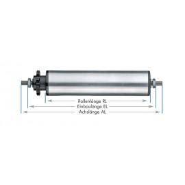 Rouleaux de support entraînés - tubes en aluminium