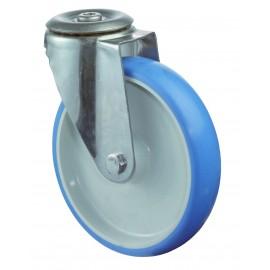 Roulette de transport en inox