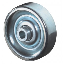 Sheet steel wheels