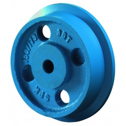 Flanged wheel