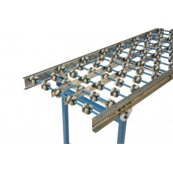 Multi-directional mini-roller conveyor