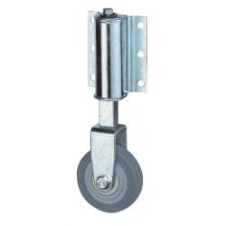 Roulette fixe pour échelle