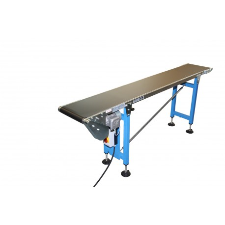 Supports for sliding belt conveyor