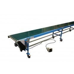 Sliding belt conveyor