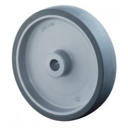 Rubber wheel