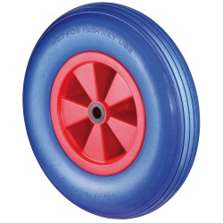 Polyurethane wheel (malfunction free)