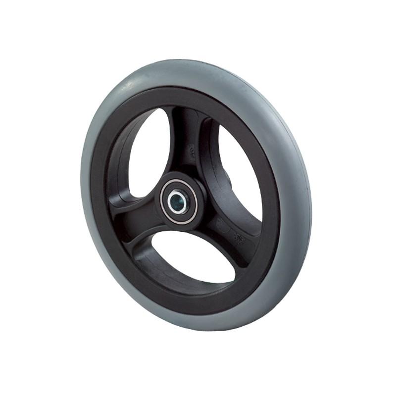 roue increvable en caoutchouc become partners. Black Bedroom Furniture Sets. Home Design Ideas